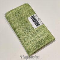 FQ7217 7217 Grøn patchworkstof med lærred look fat quarter 50 x 55 cm