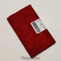 FQ7343 7343 - Rød meleret Bali/Batik patchwork stof