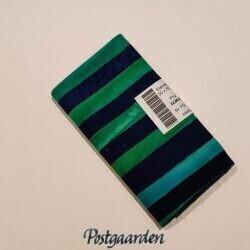 FQ7363 7363 - Tyrkis blå strip - Bali batik patchworkstof