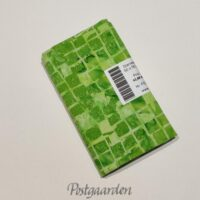 FQ7390 7390 Limegrøn med tern Bali/Batik patchwork stof