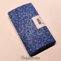 FQ7500 Blå med små blomster patchworkstof fat quarter