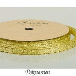 Metallicbånd 6 mm guld