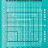 Stripology Squared Mini fra Creative Grids med skridsikker bagside