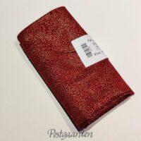 FQ7386 FQ7386 Rød med guldprikker - JUL patchwork stof fat quarter
