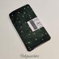FQ7446 - Grøn med guldstjerne - JUL patchworks