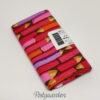 FQ6342 Pink blyanter patchworkstof