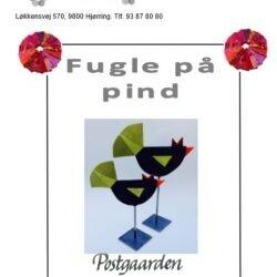 1401 - Fugle på pind