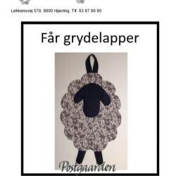 Får grydelapper - 1509