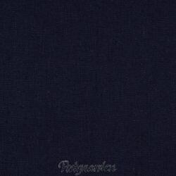 7456 mørkblå hør/bomuld