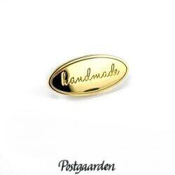 Handmade skilt guld