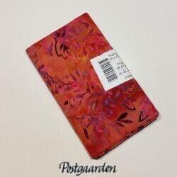 FQ6362 Brændt med lilla grene bali batik patchworkstof