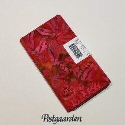 FQ6409 Pink med mønster i bali batik patchworkstof