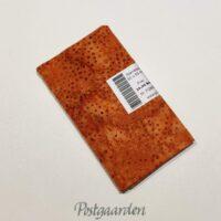 FQ6864 6864 Orange brændt patchworkstof med prikker i bali batik patchworkstof