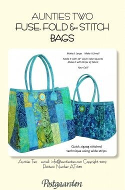 Fuse Fold and stitch Bags AT635