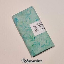 FQ7466 7466 Lystyrkis med blade bali batik patchworksto