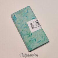 FQ7466 7466 Lystyrkis med blade bali batik patchworkstof fat quarter