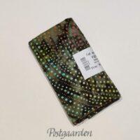 FQ7467 7467 Grøn bali batik med prikker patchworkstof