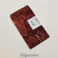 FQ7468 7468 Brændt med prikker bali batik patchwork stof