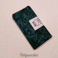 FQ7469 7469 Tyrkis med hjul bali batik patchwork stof