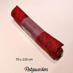 096949 Rød med sorte roser