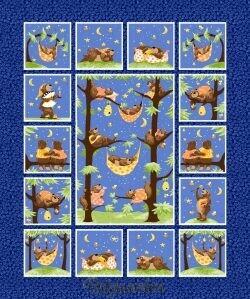 7493P Panel med bjørne