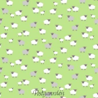 7498 Grøn med får