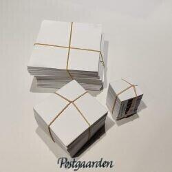 Patchworkkarton firkanter 200 stk. pakninger