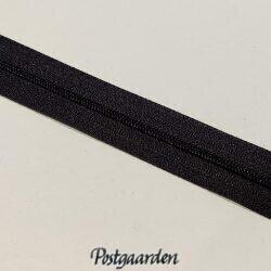 4 mm sort lynlås i metermål 436009