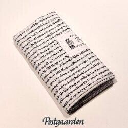 FQ7504 Råhvid med sort skrift