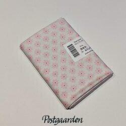 FQ6509 Hvid med lyserøde blomster