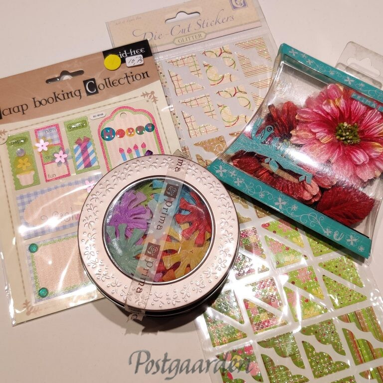 Dekoration - scrapbooking