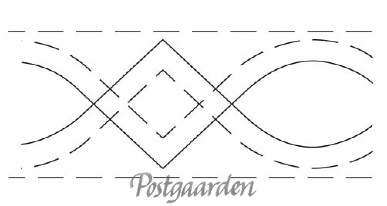 QME112 Quiltebort nr. 112 - maskin quiltning