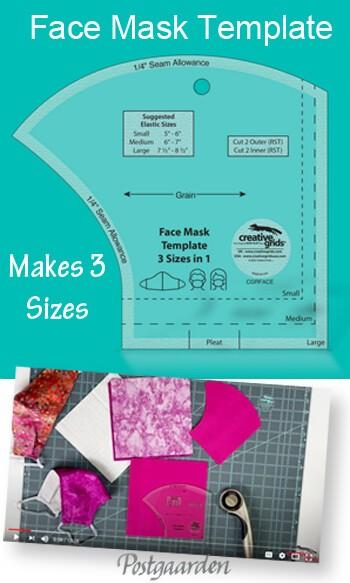 Face mask - Mundbind Creative Grids