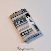 997524 Kassettebånd på patchworkstof 50 x 55 cm fat quarter