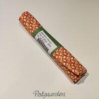 095980 lyserød med mønster patchworkstof