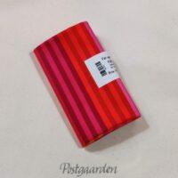 997531 FQ7531 Rød Pink Orange patchworkstof i striber fat quarter