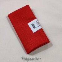 FQ7527 Rød patchworkstof med stofstruktur print