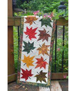 CLPCVB018 Maple leaf Runner - mønster