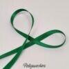 Mellemgrøn 6mm satinbånd