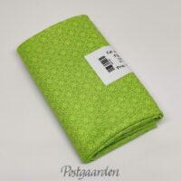 FQ7550 Lime patchworkstof med geometrisk mønster