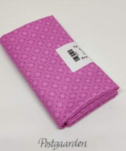 FQ7545 Pink patchworkstof med geometrisk mønster
