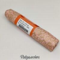 096607 - Lyserød m. guldmønster REST