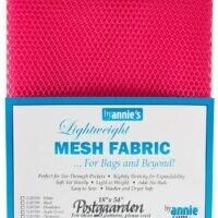 Pink Mesh - netstof