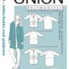 1051 - Jakke/frakke med sjalskrave - snitmønster fra ONION