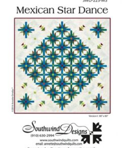 Mexican Star Dance - patchwork mønster