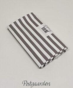 FQ7596 Lysgrå hvid strib patchworkstof