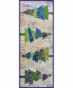 crazy cristmas trees patchwork mønster