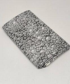 FQ7605 Grå med bobler patchworkstof