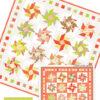 Strawberry Swirls patchwork mønster