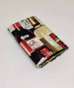 FQ7610 Vinflasker patchworkstof